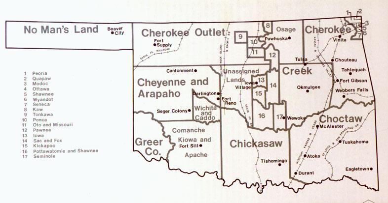Oklahoma County Map - Oklahoma county maps